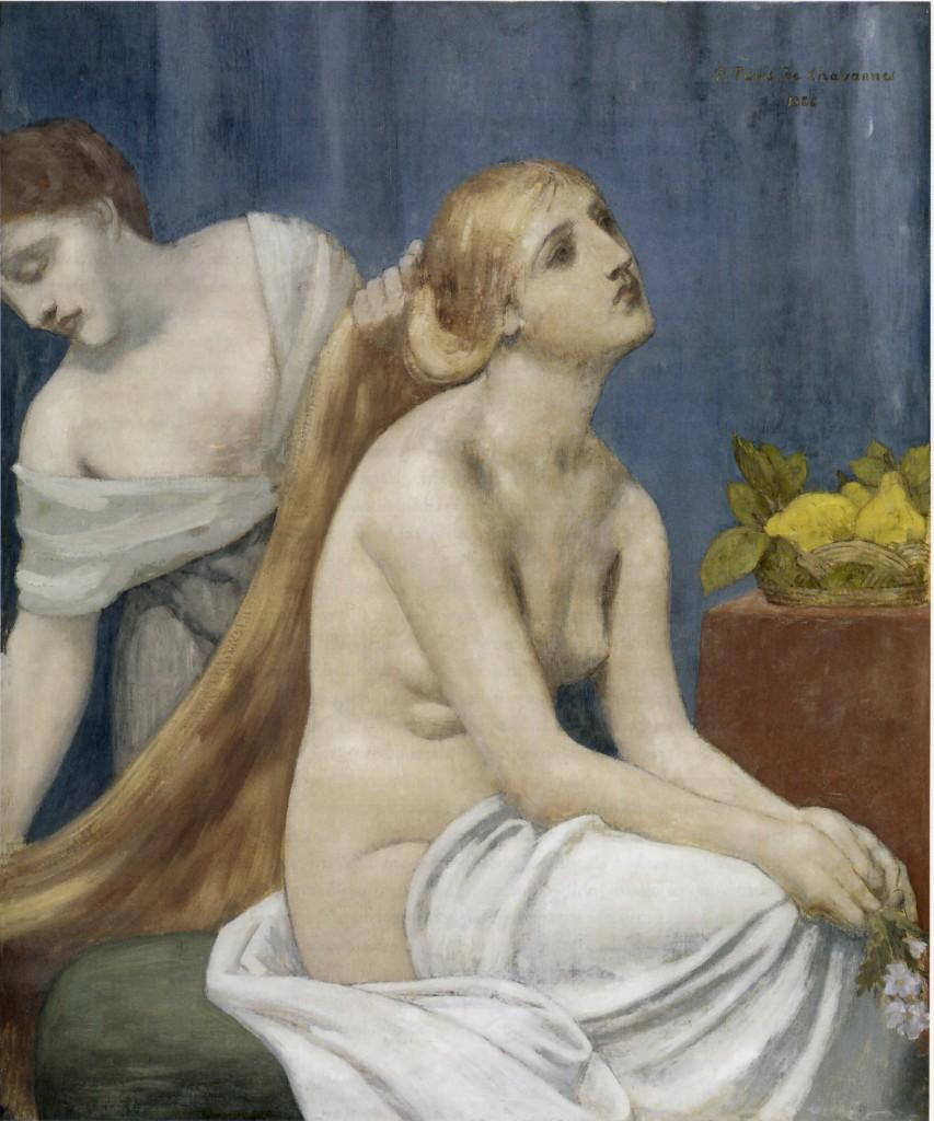 Pierre Puvis de Chavannes, «La Toilette», 1883, Parigi, Musée d'Orsay