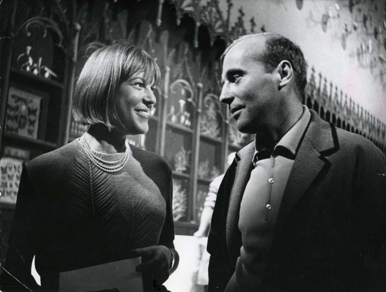 Henze con Ingeborg Bachmann