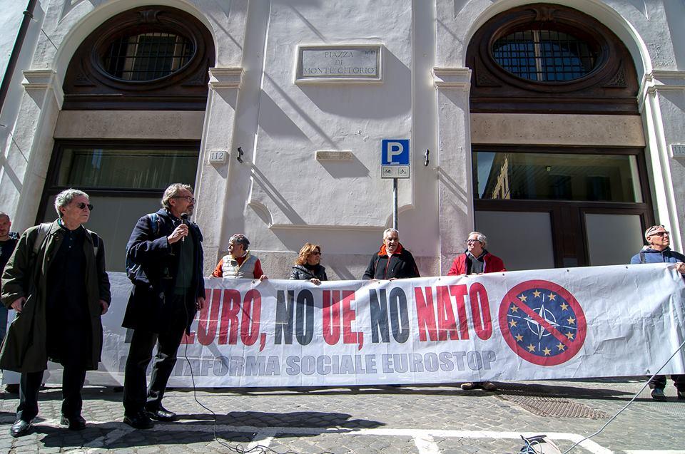 Roma, piazza Montecitorio, presentazione della manifestazione