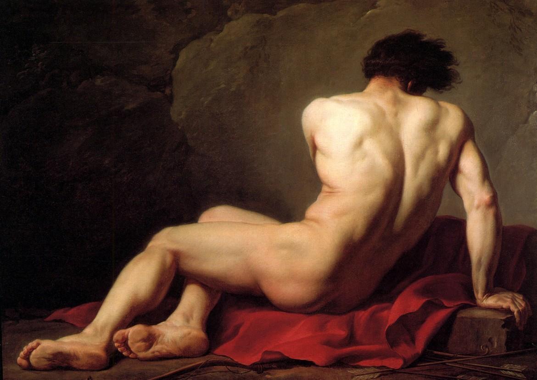Jacques-Louis David, «Académie dite Patrocle», 1780, Cherbourg-Octeville, Musée Thomas-Henry Location