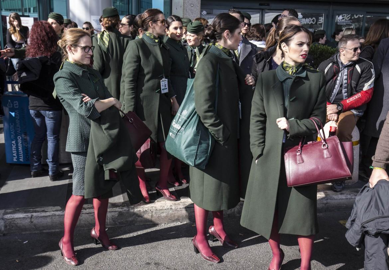 Hostess Alitalia