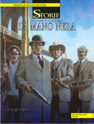 La Mano Nera: la cover di Aldo Di Gennaro - © Bonelli