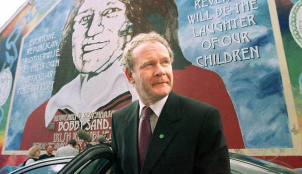 Martin McGuinness, il leader di Sinn Féin morto ieri a 66 anni