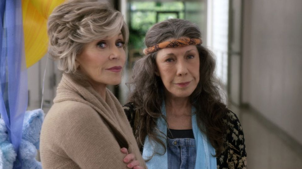 Jane Fonda e Lily Tomlin in Grace e Frankie