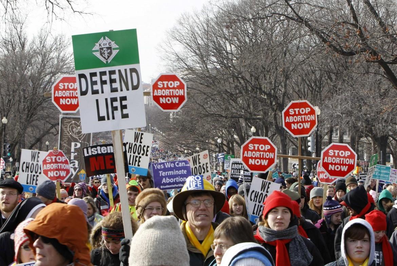 Washington, manifestazione antiabortista