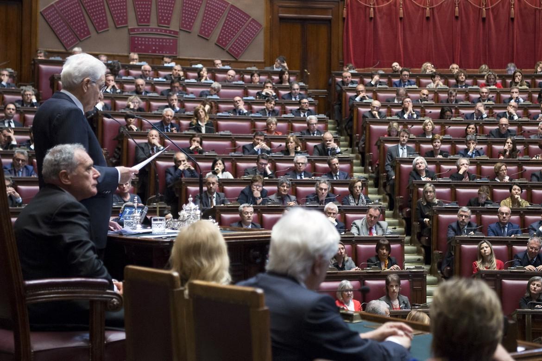 Sergio Mattarella alla camera per il 60° anniversario  dei Trattati di Roma