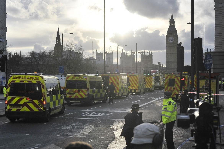 Immagine di repertorio: l'attacco di marzo 2017 a Westminster
