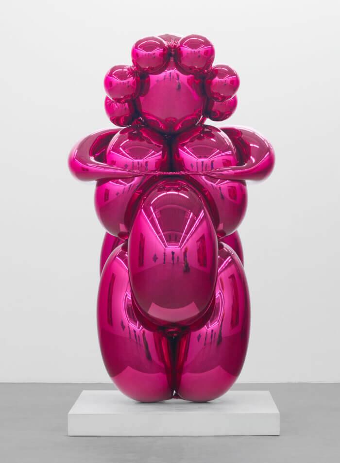 «Venus Balloon Pink» di Jeff Koons