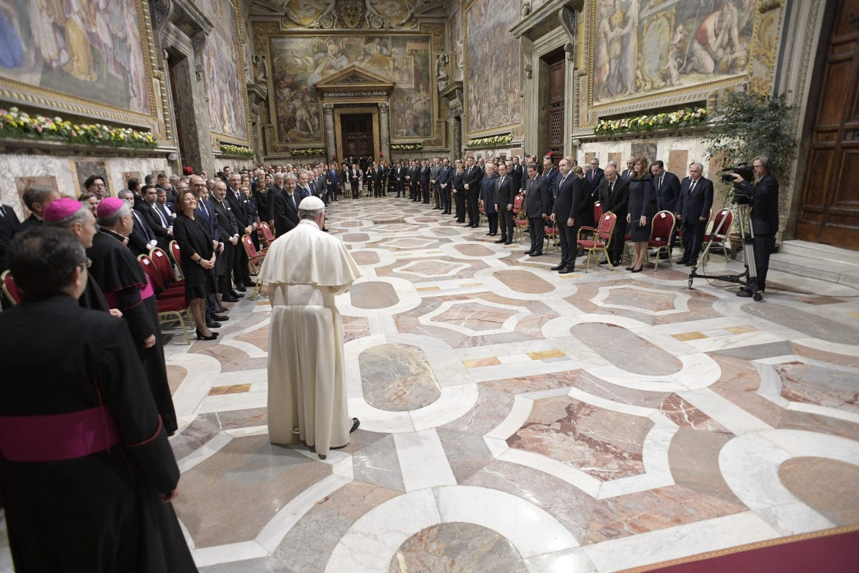 I leader europei in Vaticano