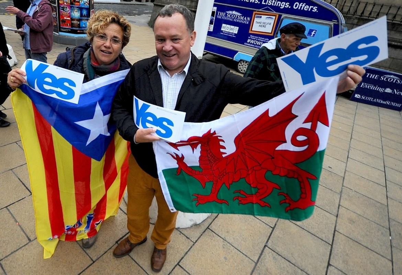 Sostenitori del si nel referendum del 2014 Sostenitori del si nel referendum del 2014