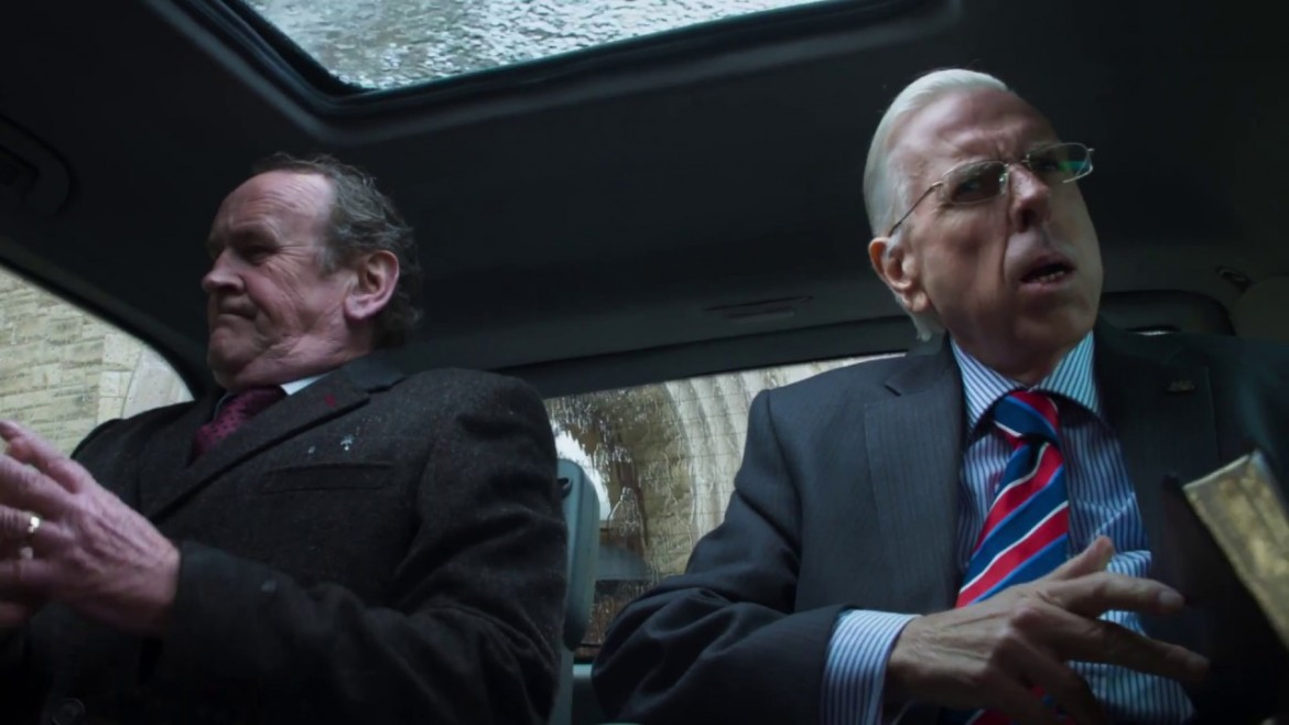 Timothy Spall e Colm Meaney