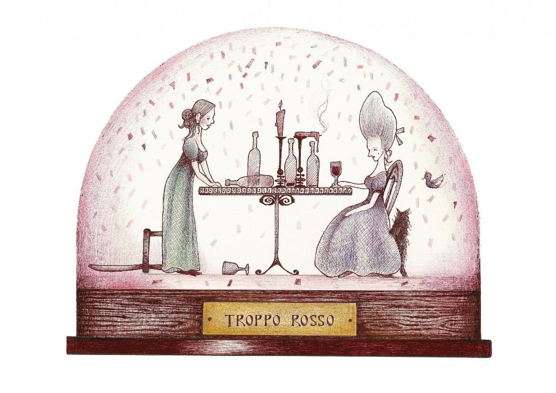 Andrea Joseph, illustrazione per la «Signorina attaccabrighe» (Donzelli)