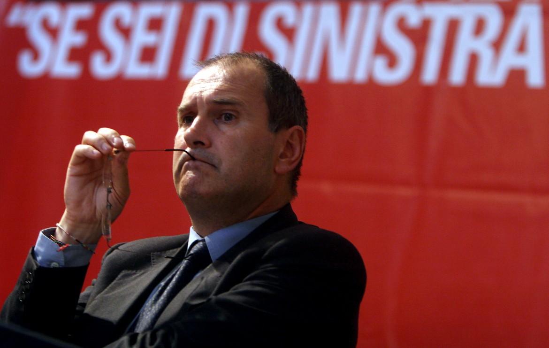 Il segretario uscente di Rifondazione comunista Paolo Ferrero