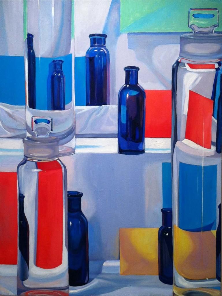 Barbara Swan, «Bottles and Envelopes», 1983, Boston, Alpha Gallery. L'artista americana lavorò anche con Anne Sexton