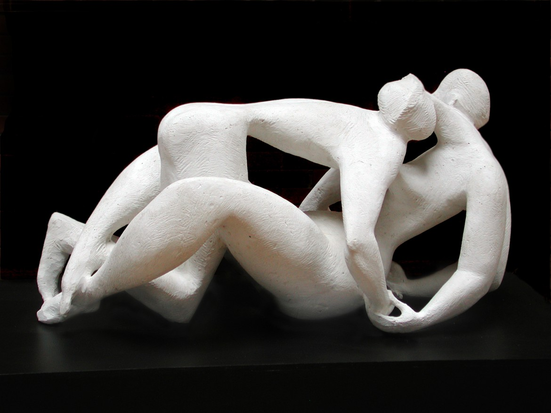 Jerzy Jarnuszkiewicz, «Coppia», gesso, 1956