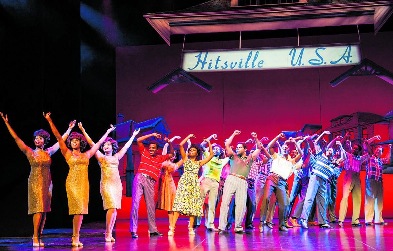 Una scena di Motown, the Musical