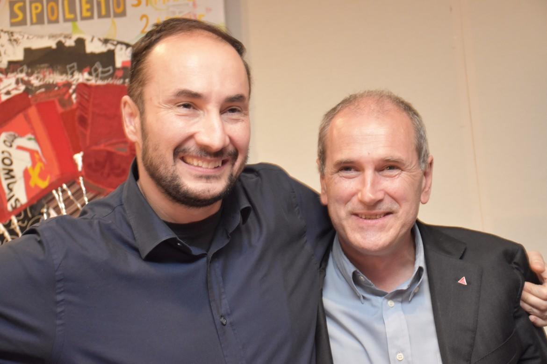 Maurizio Acerbo e Paolo Ferrero