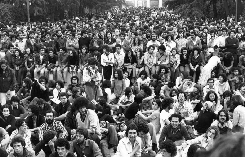 1977, Roma, università