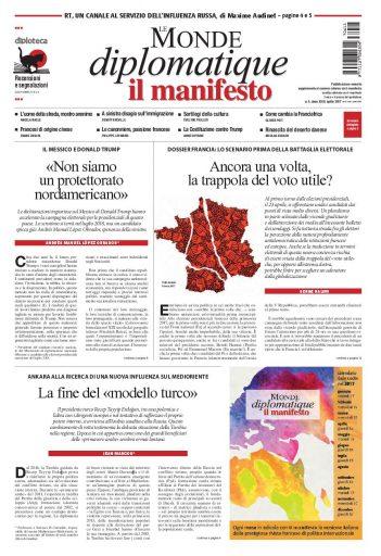 Le Monde diplomatique di aprile 2017