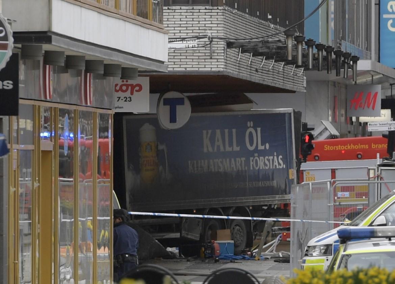 Il camion dell'attentato