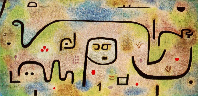 Paul Klee, «Insula Dulcamara», 1938
