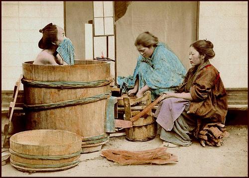 Ofuro, il bagno caldo nei tempi passati