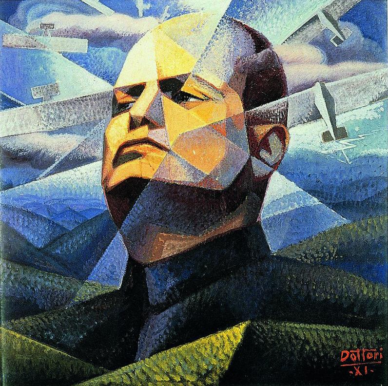 Gerardo Dottori, Ritratto di Mussolini