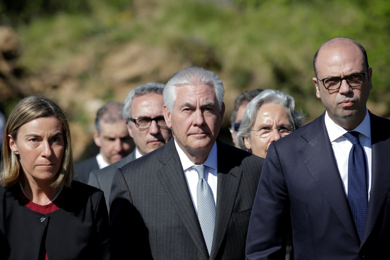 Il segretario di Stato Usa Tillerson a Sant'Anna di Stazzema