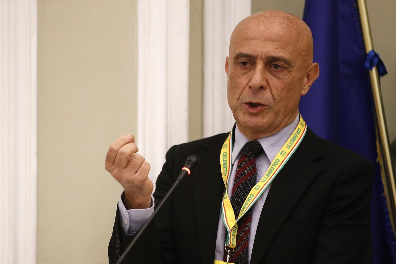 Il ministro dell'interno Marco Minniti