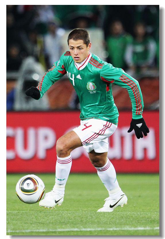 la stella messicana Javier Hernandez