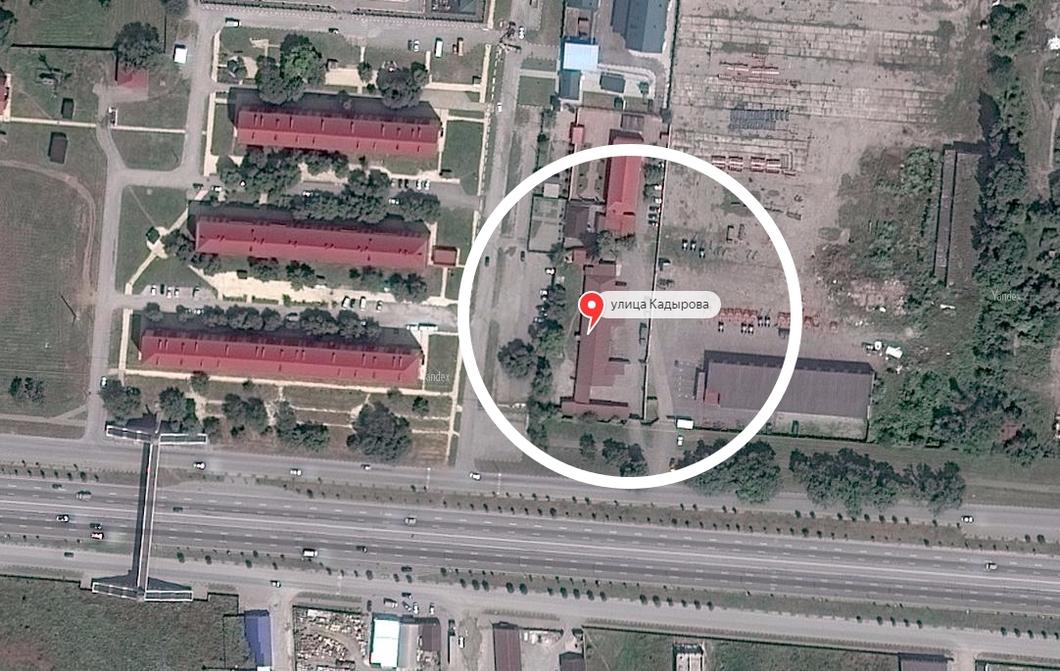 immagine aerea della prigione di Argus