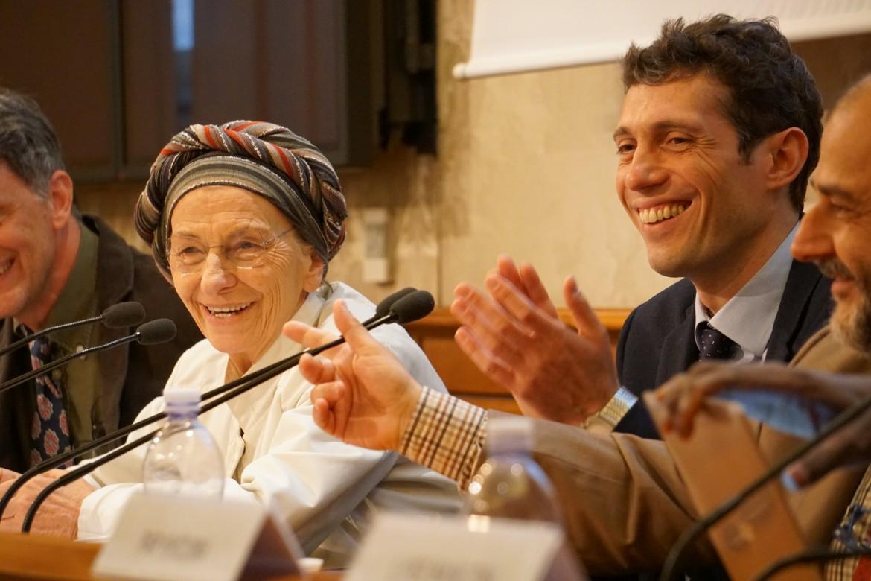 Emma Bonino, Riccardo Magi e Patrizio Gonnella