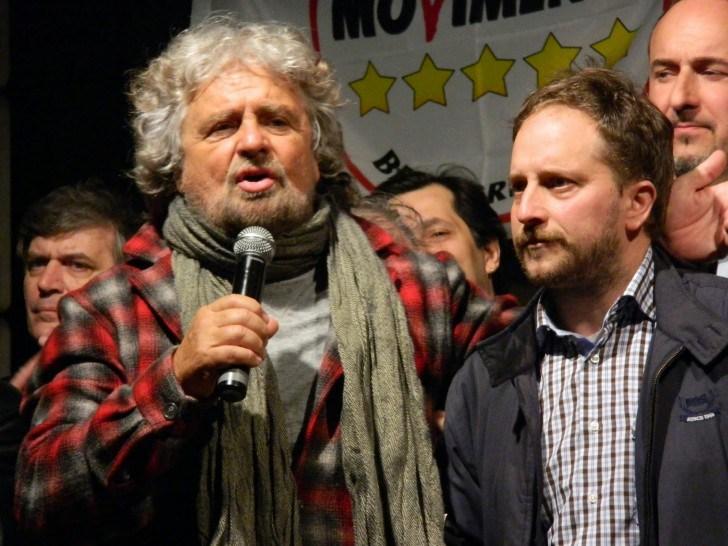 Paolo Putti con Beppe Grillo