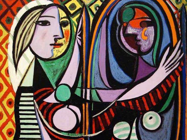 Pablo Picasso,  «Donna allo specchio», 1932