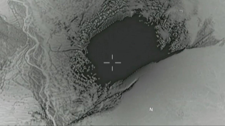 L'effetto della bomba Moab sganciata in Afghanistan