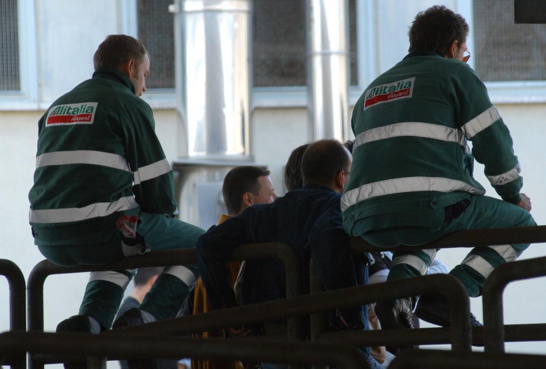 Lavoratori Alitalia