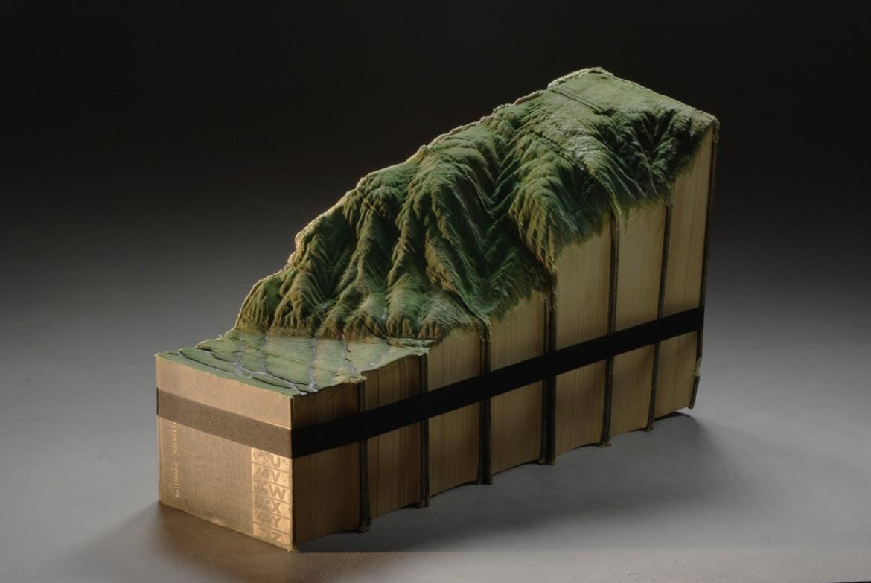 una scultura di Guy Laramee