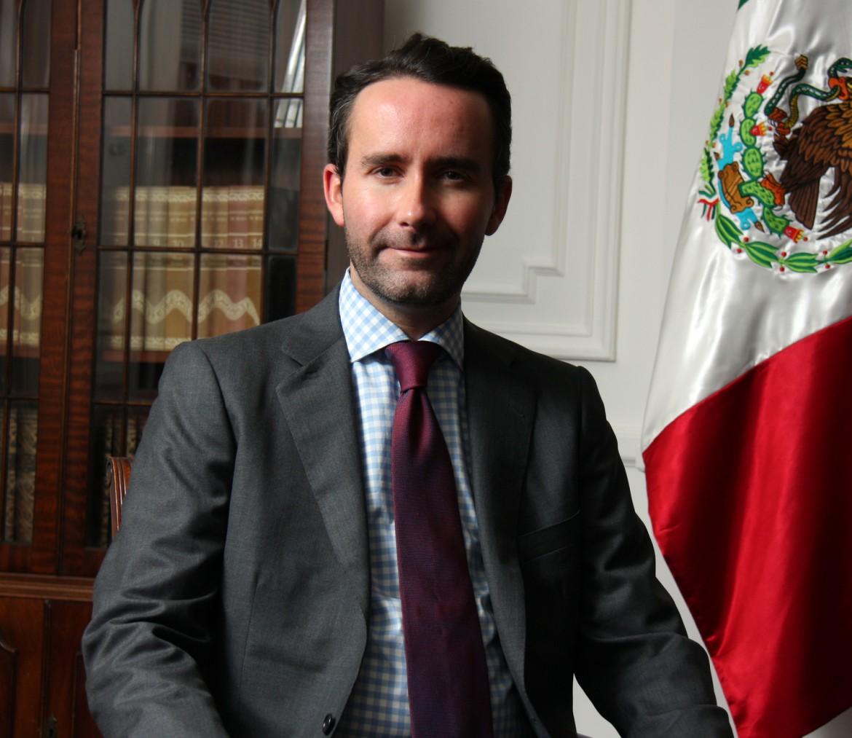 Il console generale messicano a New York, Diego Gómez Pickering