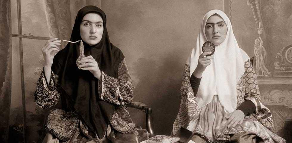 Shadi Ghadirian, «Qajar #7», 1998