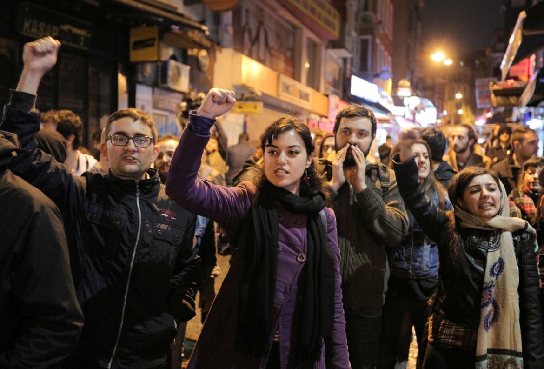 Proteste contro i brogli a Istanbul