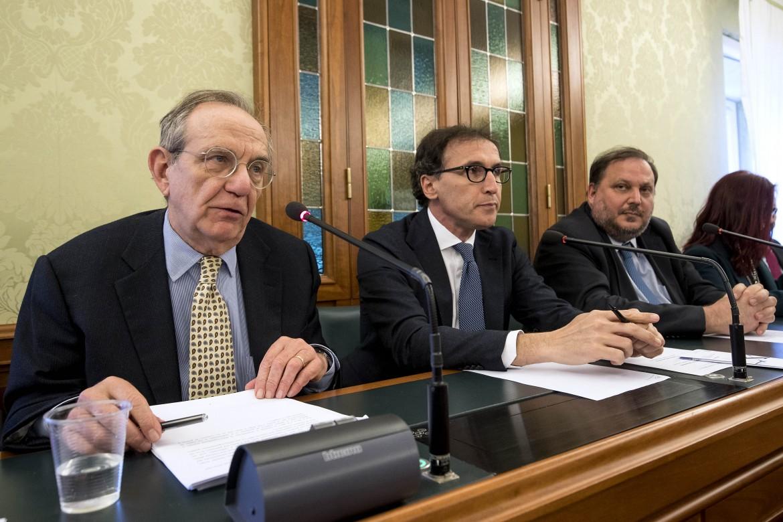 L'audizione di Pier Carlo Padoan di fronte alle commissioni parlamentari