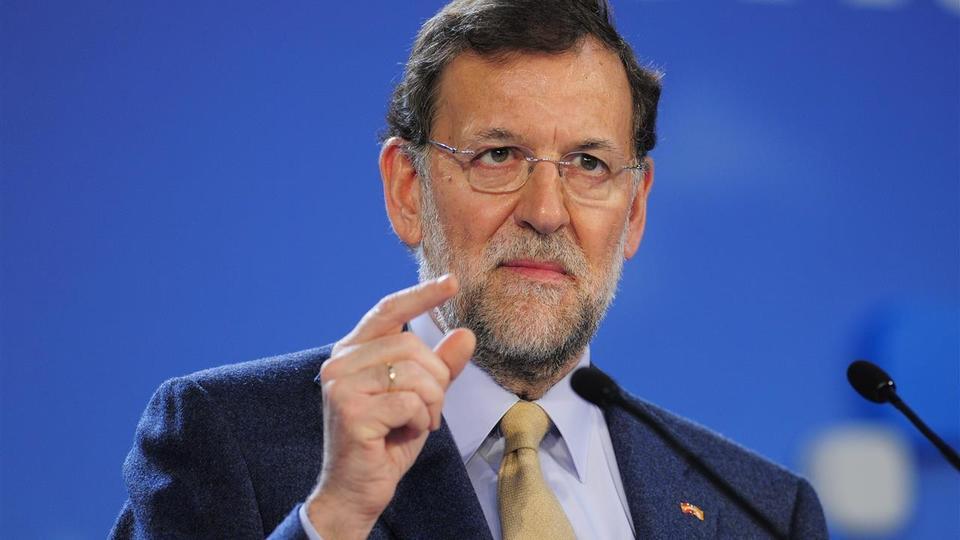 Il premier spagnolo e leader del Partido popular Mariano Rajoy