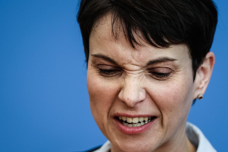 La leader di Alternative für Deutschland Frauke Petry