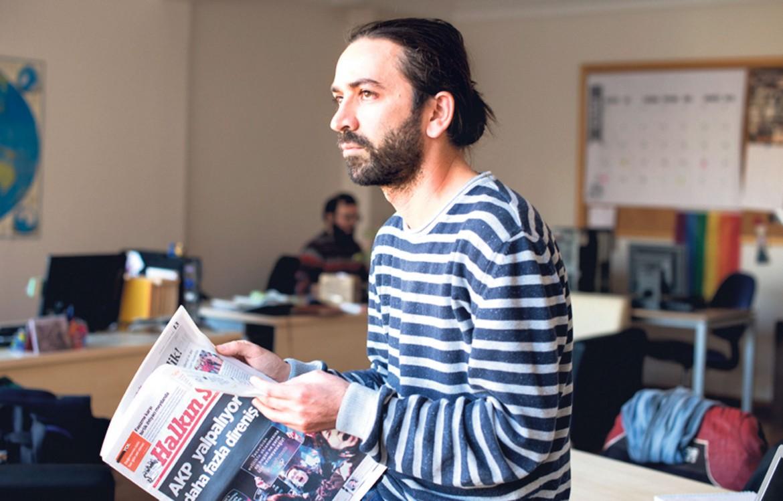 Il direttore dell'agenzia turca Sendika.org, Ali Ergin Demirhan