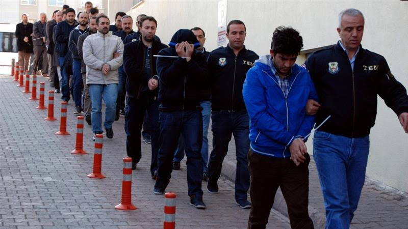 Retata di giornalisti turchi