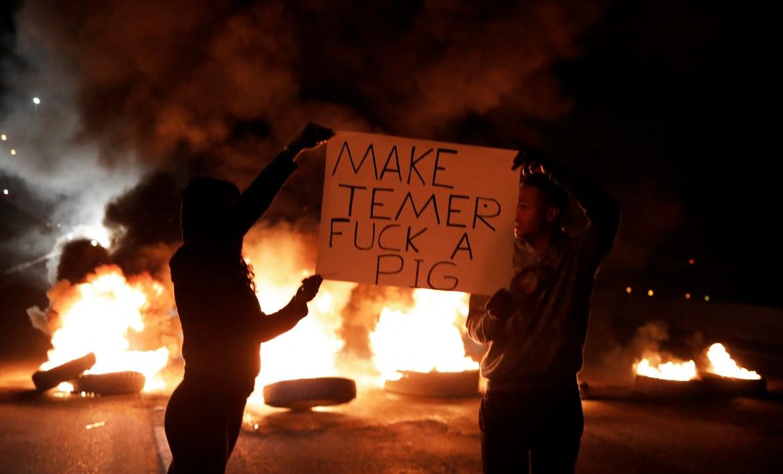 Brasile, proteste contro Temer