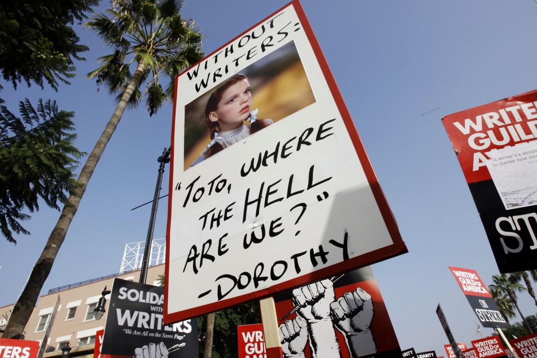 Un'immagine delle proteste del 2007