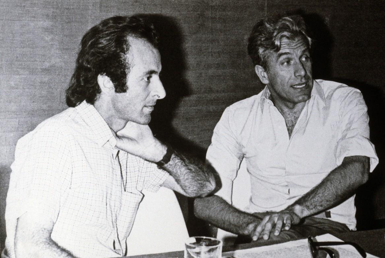 Parlato e Magri nei tardi anni '60