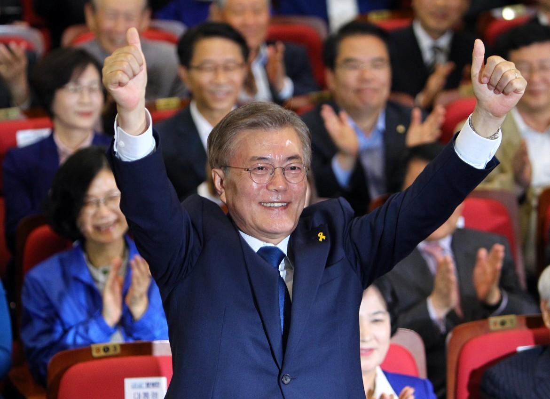 Il presidente sud coreano Moon Jae-in