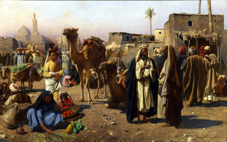 Xaver Kosler, Mercato arabo